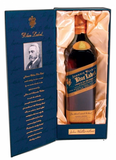 Kolekce whiskey Johnnie Walker