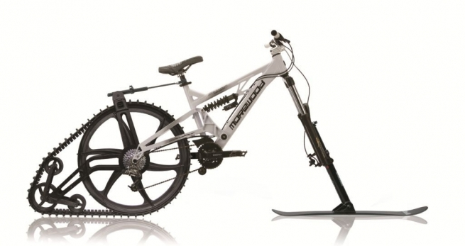 Ktrak snow bike